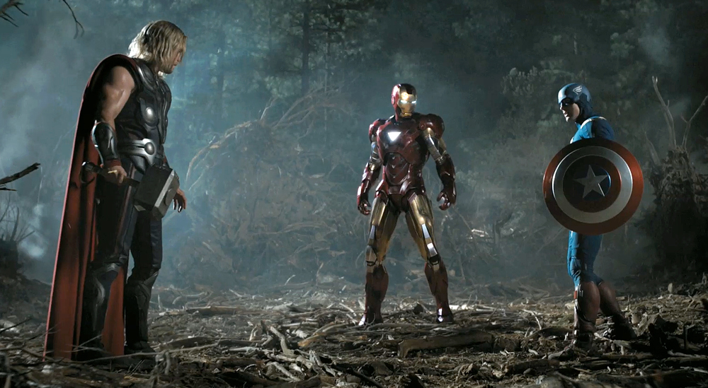 avengers Iron america man captain thor